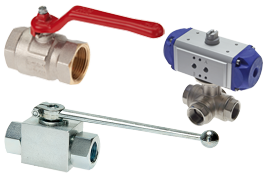 Ball valves - Fittings