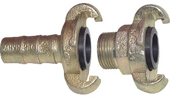 Compressor couplings, 42 mm clamp width (DIN 3489 / DIN 3238)