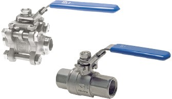 Stainless steel throughway ball valves (FT, FT/MT & welding ends)