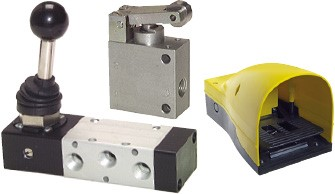 Limit switch, hand lever valves & foot valves- standard & heavy-duty