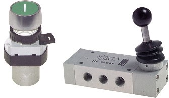 Limit switches, button actuated valves & hand lever valves - Airtec