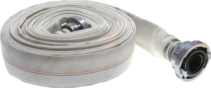 Industrial construction hoses with Storz couplings
